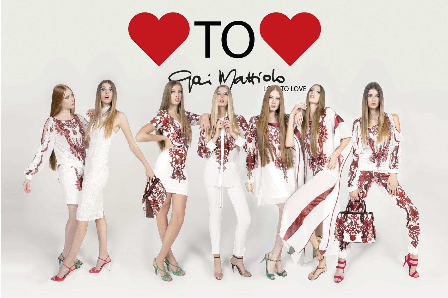 super popular 06ff3 876d5 Gai Mattiolo LOVE TO LOVE 2017 | Angela Boutique - abiti da ...
